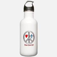 Peace Love Lift Water Bottle