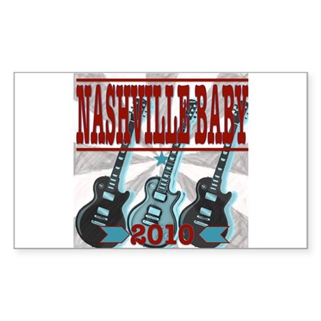 Nashville Sticker (Rectangle)