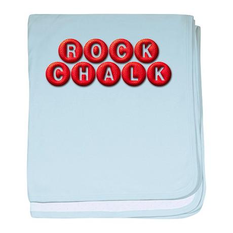 Rock Chalk BB baby blanket