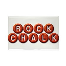 Rock Chalk BB Rectangle Magnet (10 pack)
