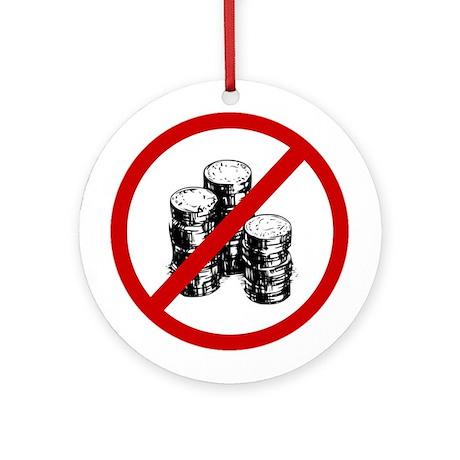 Anti Coins Ornament (Round)