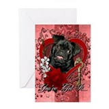 Pet valentine 27s day Greeting Cards