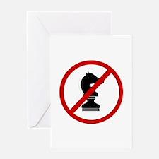 Anti Chess Greeting Card