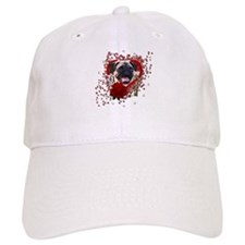 Valentines - Key to My Heart Baseball Cap