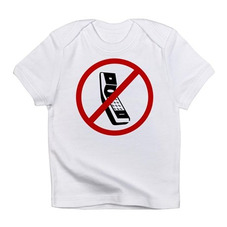 Anti Cell Phones Infant T-Shirt