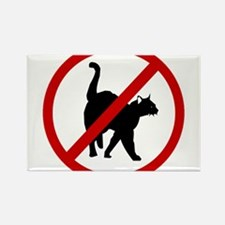 Anti Cats Rectangle Magnet (100 pack)
