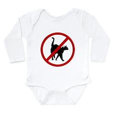 Anti Cats Long Sleeve Infant Bodysuit