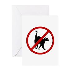 Anti Cats Greeting Card