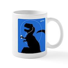 T-Rex Tunes (blue) Mug