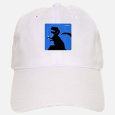 T-Rex Tunes (blue) Baseball Baseball Cap