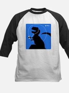 T-Rex Tunes (blue) Kids Baseball Jersey