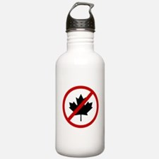 Anti Canadians Water Bottle