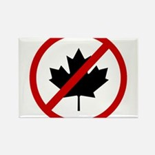 Anti Canadians Rectangle Magnet (10 pack)