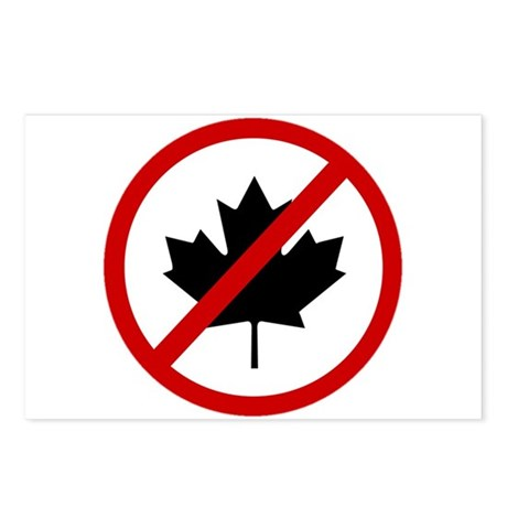 Anti Canadians Postcards (Package of 8)