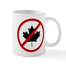 Anti Canadians Small Mugs