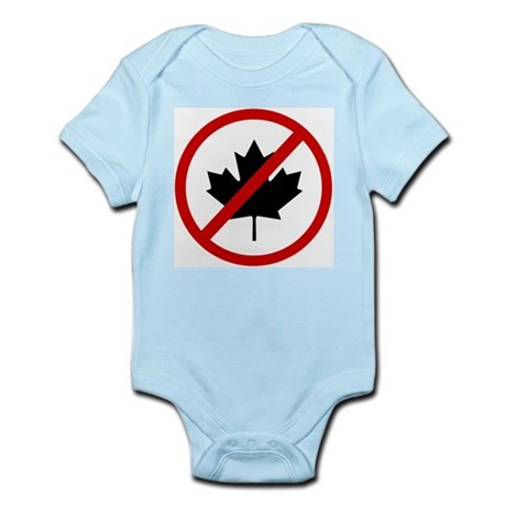 Anti Canadians Infant Bodysuit