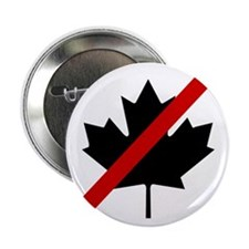 """Anti Canadians 2.25"""" Button (10 pack)"""