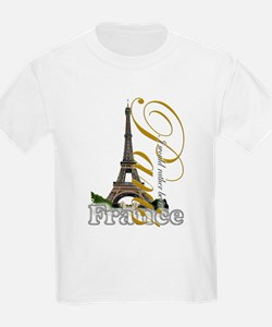 Paris, France - T-Shirt