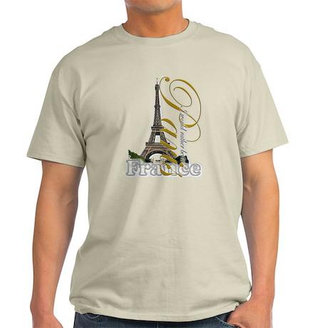 Paris, France - Light T-Shirt
