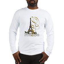Paris, France - Long Sleeve T-Shirt