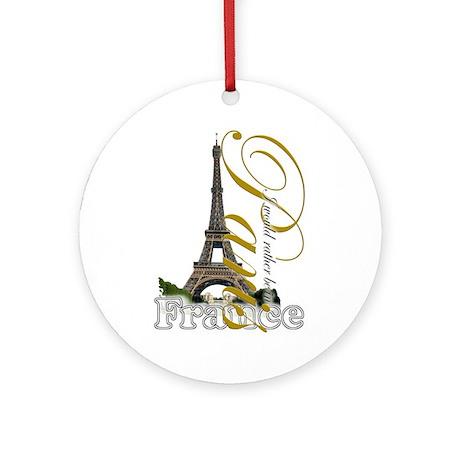 Paris, France - Ornament (Round)