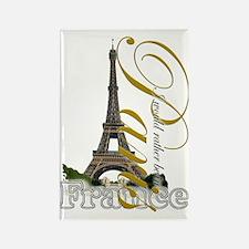 Paris, France - Rectangle Magnet