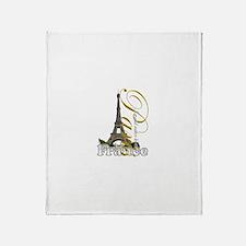 Paris, France - Throw Blanket
