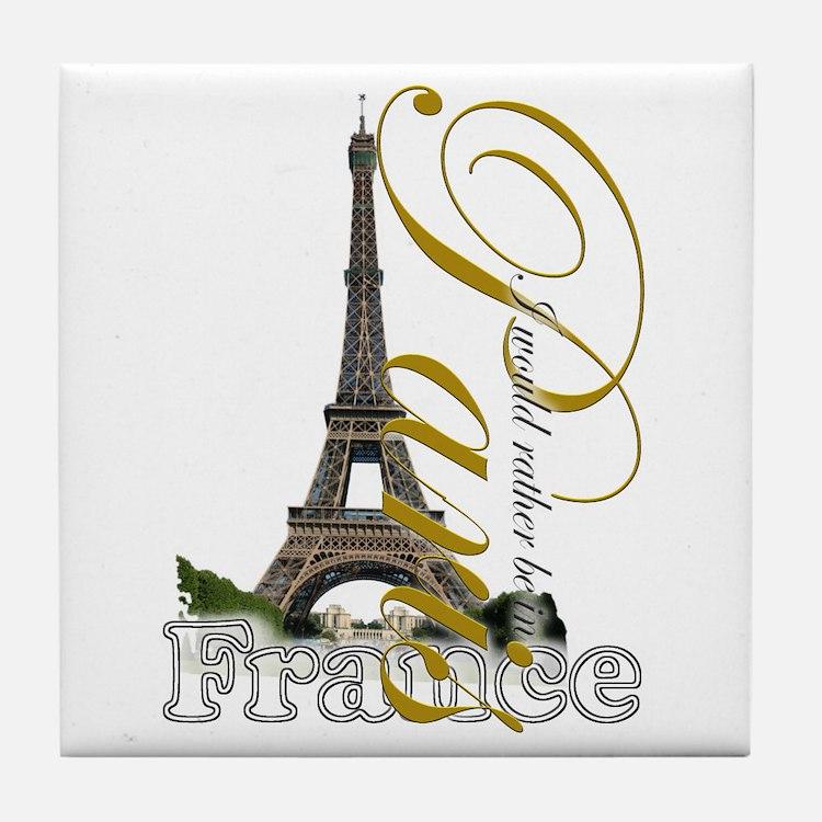 Paris, France - Tile Coaster