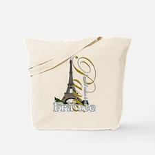 Paris, France - Tote Bag