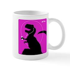 T-Rex Tunes (magenta) Mug