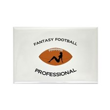 Fantasy Football Professional Rectangle Magnet (10
