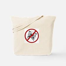 Anti Butterflies Tote Bag