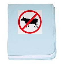 Anti Bull poop baby blanket