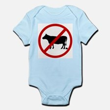 Anti Bull poop Infant Bodysuit
