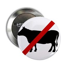 "Anti Bull poop 2.25"" Button (10 pack)"