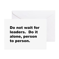 Quote Greeting Cards (Pk of 10)
