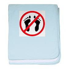 Anti Bare Feet baby blanket