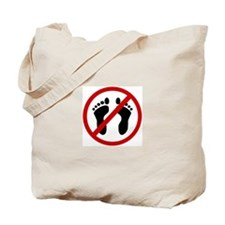 Anti Bare Feet Tote Bag