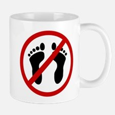 Anti Bare Feet Mug