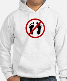 Anti Bare Feet Jumper Hoody