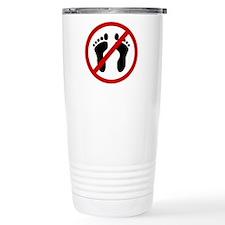 Anti Bare Feet Travel Mug