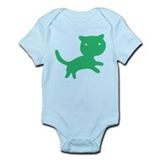 ColorKats (green) Infant Bodysuit