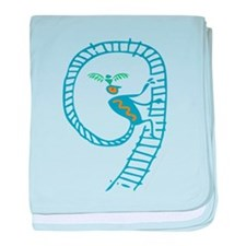 Spirit Ladder baby blanket