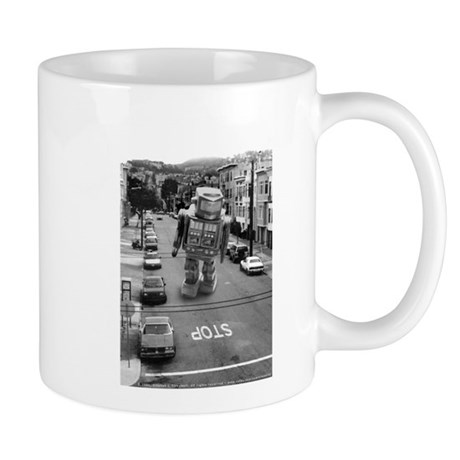Robots in the Streets Mug