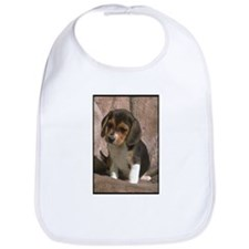 Beagle Puppy Photo Bib