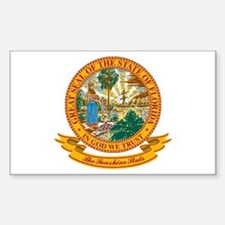 Florida Seal Sticker (Rectangle)