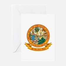 Florida Seal Greeting Cards (Pk of 10)