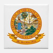 Florida Seal Tile Coaster