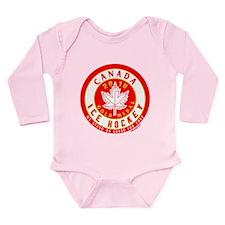 CA Canada Hockey Gold Medal Long Sleeve Infant Bod
