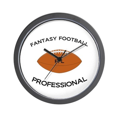 Fantasy Football Professional Wall Clock